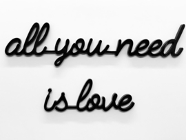 Quote all you need is love