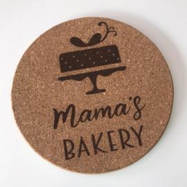 Onderzetter Mama's bakery