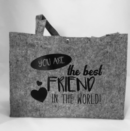 Vilten tas You are the best friend in the world