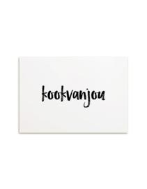 Kaart Kook van jou