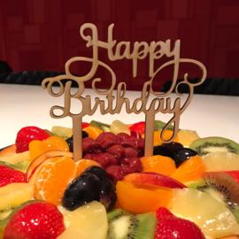 Taartprikker Happy birthday
