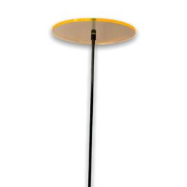 """""""zonne"""" bloem S - geel (10,5 cm)"""