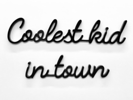 Quote coolest kid in town
