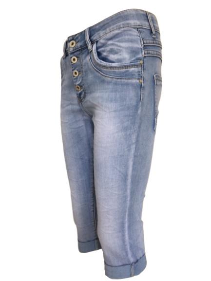 Capri Jewelly jeans | Broeken & Treggings | SASMODE.NL