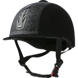 CHOPLIN Aero Lamé verstelbare cap zwart