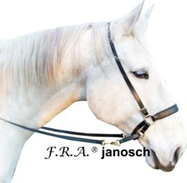 F.R.A Janosch kingekruist hoofdstel zwart