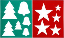 QHP Borstelpatroon Kerst