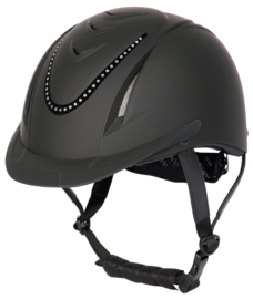 Harry's Horse cap Chinook Crystal zwart