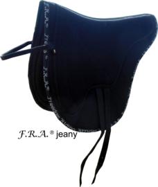 F.R.A Jeany barebackpad zwart