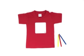 Whiteboard T-shirt, kinderen