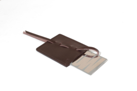 Wow pocket mirror, dark brown