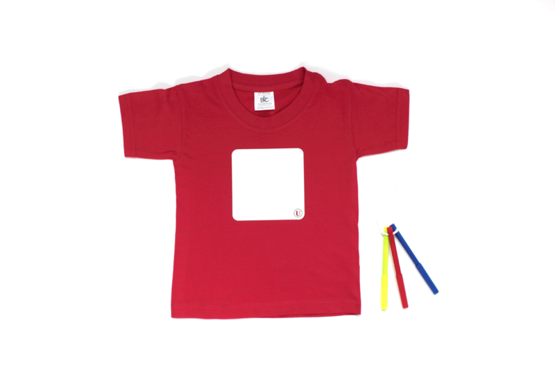 Whiteboard T-shirt, kids