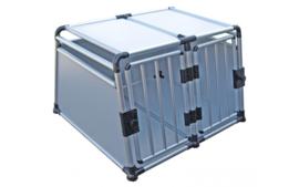 Transportbox Dubbeldeurs Aluminium 96x88x64cm