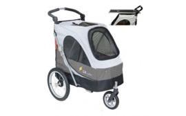 HQ honden/katten show buggy met trimplaat