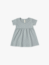 short sleeve baby dress Ocean, Quincy Mae