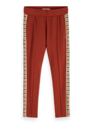 Sweatpants with side panel, scotch R' belle