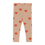 Hearts Legging Red/nude, Tiny Cottons