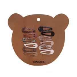 Hairclips Bear 3 cm, VanPauline