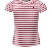 T-shirt stripesfuchsia, Looxs revolution