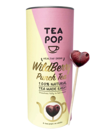 Tea on a stick wildberry punch, Teapop,