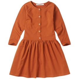 Button dress Dark Ginger, Mingo