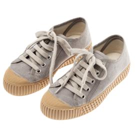 Canvas sneakers grey, Tocoto Vintage