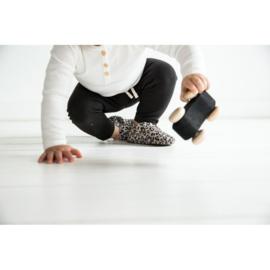 Mockies First Steps Leopard Grey