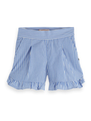 Cotton shorts with ruffles, Scotch R'belle