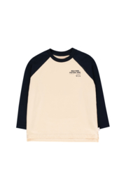 Pretzel ride colorblock tee, Tiny Cottons