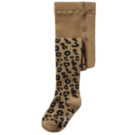 Brown Leopard Tights, Maed for Mini