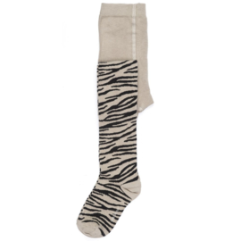 Smiling Zebra Tights, Maed for Mini
