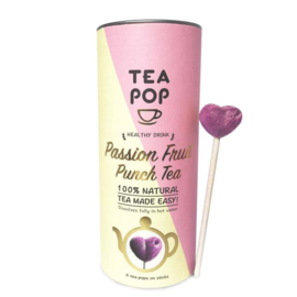 Tea on a stick Passion fruit, Teapop,