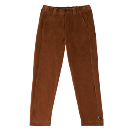 Basic Chino Rib brown, CarlijnQ