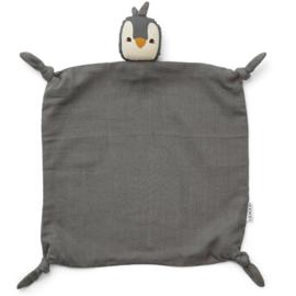 Agnete  Pegnuin Stone Grey cuddle cloth, Liewood