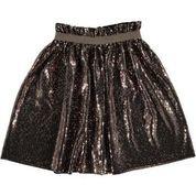 Glitter skirt brown, Tocoto Vintage