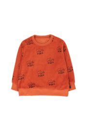Foxes sweatshirt sienna, Tiny Cottons