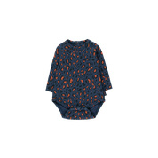 Foxes body Navy/Camel, Tiny Cottons