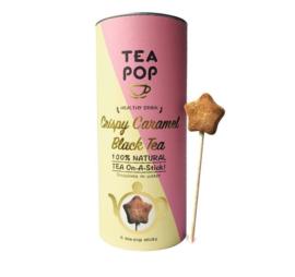 Tea on a stick Crispy caramel, Teapop,