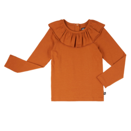 Basic longsleeve big collar, CarlijnQ