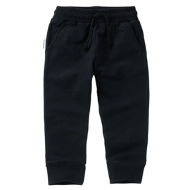 Slim fit jogger black, Mingo