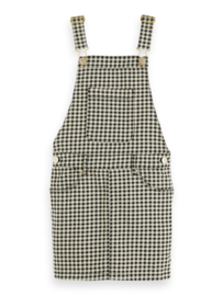 Dungaree dress check, Scotch R' belle
