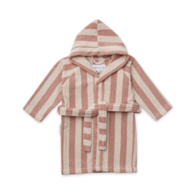 Badjas reggie striped rose/sandy, Liewood