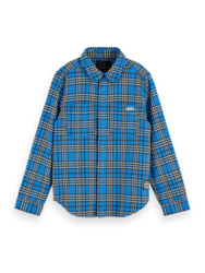 Longsleeve flanel check shirt, Scotch Shrunk
