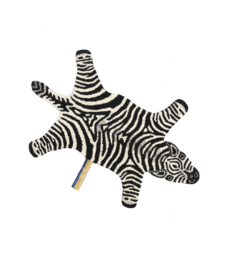 Chubby Zebra small rug, Doing Goods