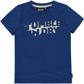 T-shirt Gus Blue, Tumble 'N Dry