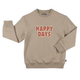 Sweater happy days, CarlijnQ