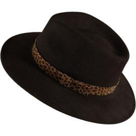 Felt hat animal print, Tocoto Vintage