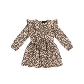 Dress rosewood Leopard , House of Jamie