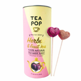 Tea on a stick Herbal & fruit, Teapop
