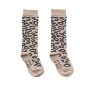 Knee socks Caramel Leopard, House of Jamie